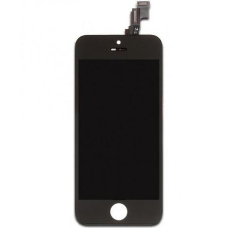 iPhone SE ekrano pilnas komplektas juodas TM