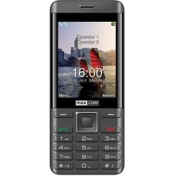 MaxCom MM236 2 SIM juodas