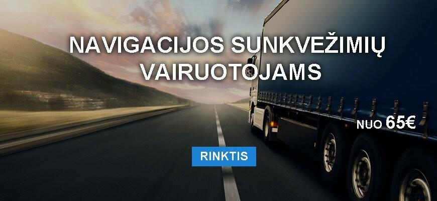 GPS sunkvežimiams