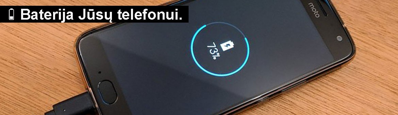 Telefonų baterijos - asnet.lt