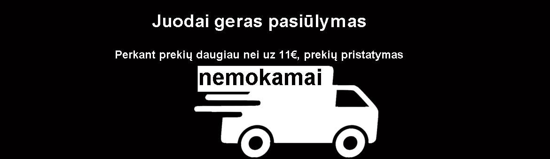 Nemokamas prekių pristatymas Lietuvoje - asnet.lt